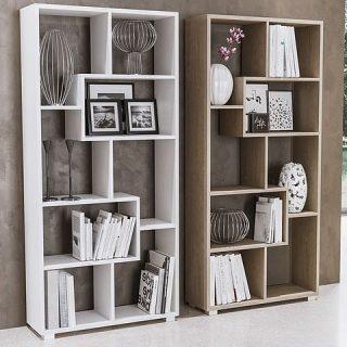 Originale e creativa, questa libreria permette di creare soluzioni di arredamento. Estremamente versatile può essere montata sia verticalmente che orizzontalmente a seconda delle esigenze.
